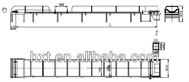 200 - 260 t/h cereal pellet belt conveyor equipment_Flat Bottom Silo